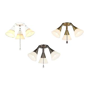 Add-on light kit 16 for CasaFan ceiling fans in various colours
