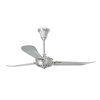 Faro Ceiling Fan Aoba nickel matt 142 cm / 56
