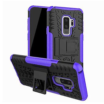 Hybrid case 2 piece SWL outdoor purple for Samsung Galaxy S9 G960F bag cover