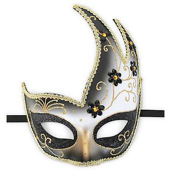 Domino Venezia Maske Venedig Venezianisch Augenmaske Accessoire