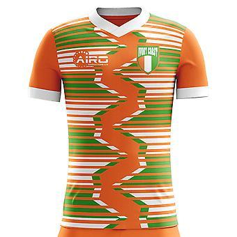 2018-2019 Ivory Coast Home Concept Football Shirt (Kids)