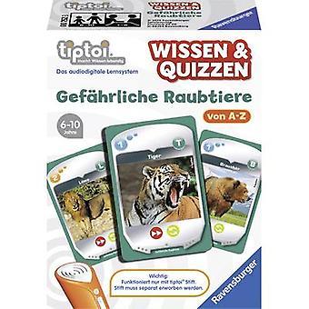 Ravensburger tiptoi ® knowledge & Quizzen: Dangerous carnivores