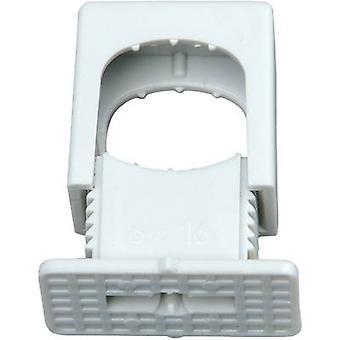 Kopp 343404099 343404099 ISO clip resealable Grey 50 pc(s)