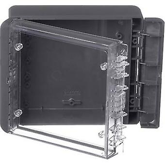 Bopla Bocube B 141306 PC-V0-G-7024 Wall-mount enclosure, Build-in casing 125 x 151 x 60 Polycarbonate (PC) Graphite grey (RAL 7024) 1 pc(s)
