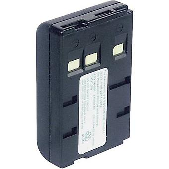 Camera battery Conrad energy replaces original battery P-V211, P-V22, VW-VBS10E, VW-VBS2