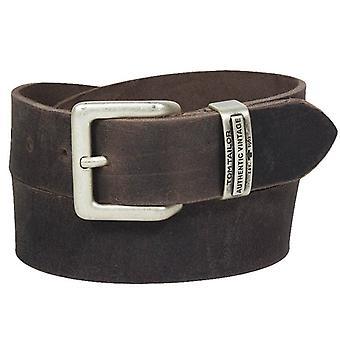 Tom tailor buckle leather belt TG1008R15-681