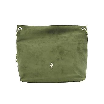 Menbur Womens Shoulder Bag 76453 Khaki