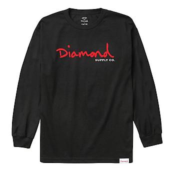 Diamond Supply Co Snake L/S T-shirt Black