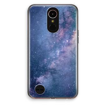 LG K10 (2017) gennemsigtig sag (Soft) - Nebula