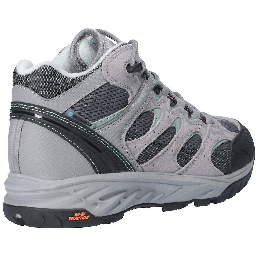 4a35d3ba3cd Hi Tec Womens Wild Fire Low I Waterproof Fabric Hiking Boots