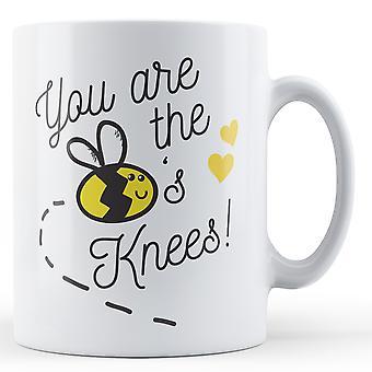 U bent de bijen knieën! -Bedrukte mok