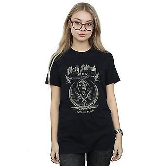 Black Sabbath Women's The End World Tour Boyfriend Fit T-Shirt