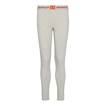 Calvin Klein Womens Monogram Leggings - Grey