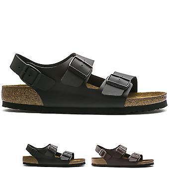 Womens Birkenstock Milano Birko-Flor Beach Holiday Summer Strappy Sandals