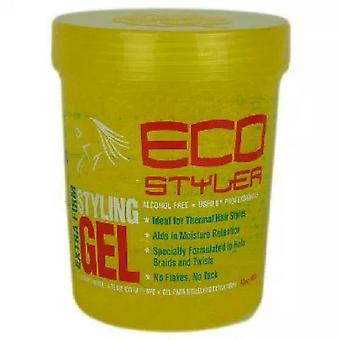 Eco Styler Professional Styling Gel for Coloured Hair, Yellow, 32oz