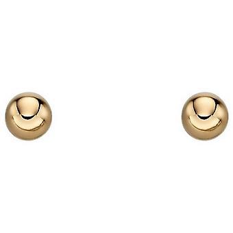 Beginnings 6mm Ball Stud Earrings - Gold
