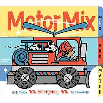 Motor Mix - Emergency by Emily Snape - 9781452148380 Book