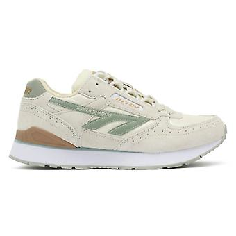 Hi-Tec Silver Shadow Womens White / Sage Trainers