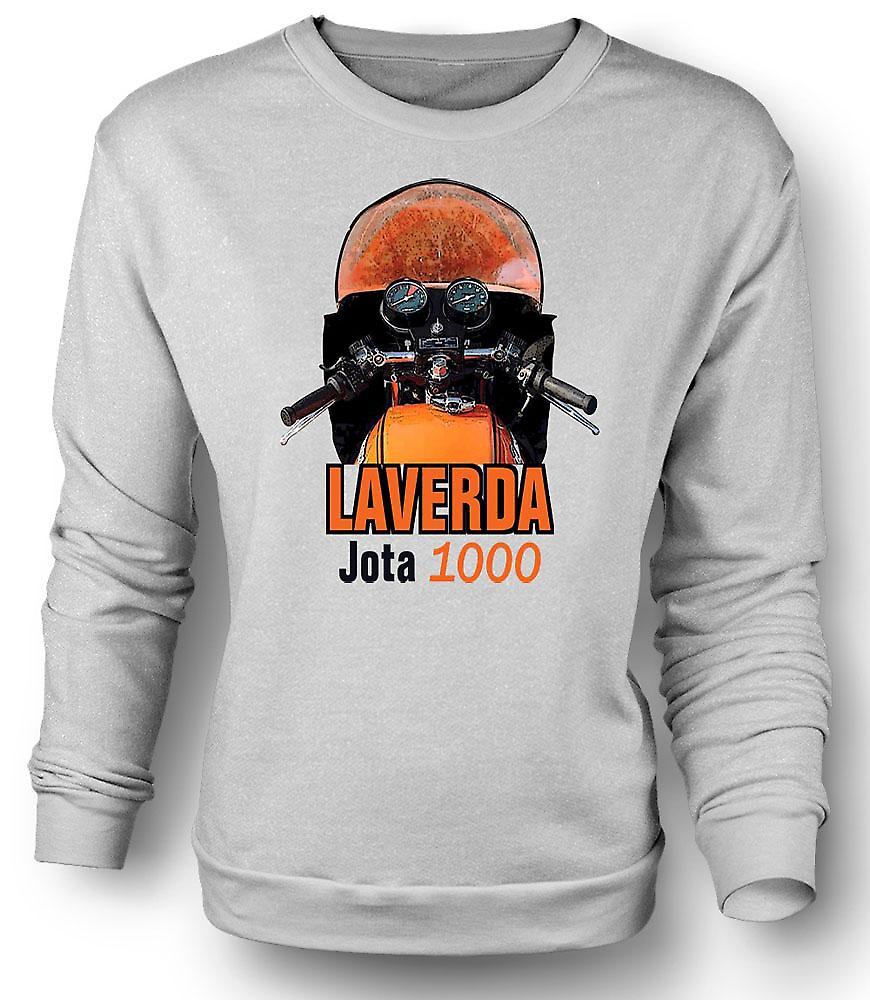 Mens Sweatshirt Laverda Jota 1000 vélos classique
