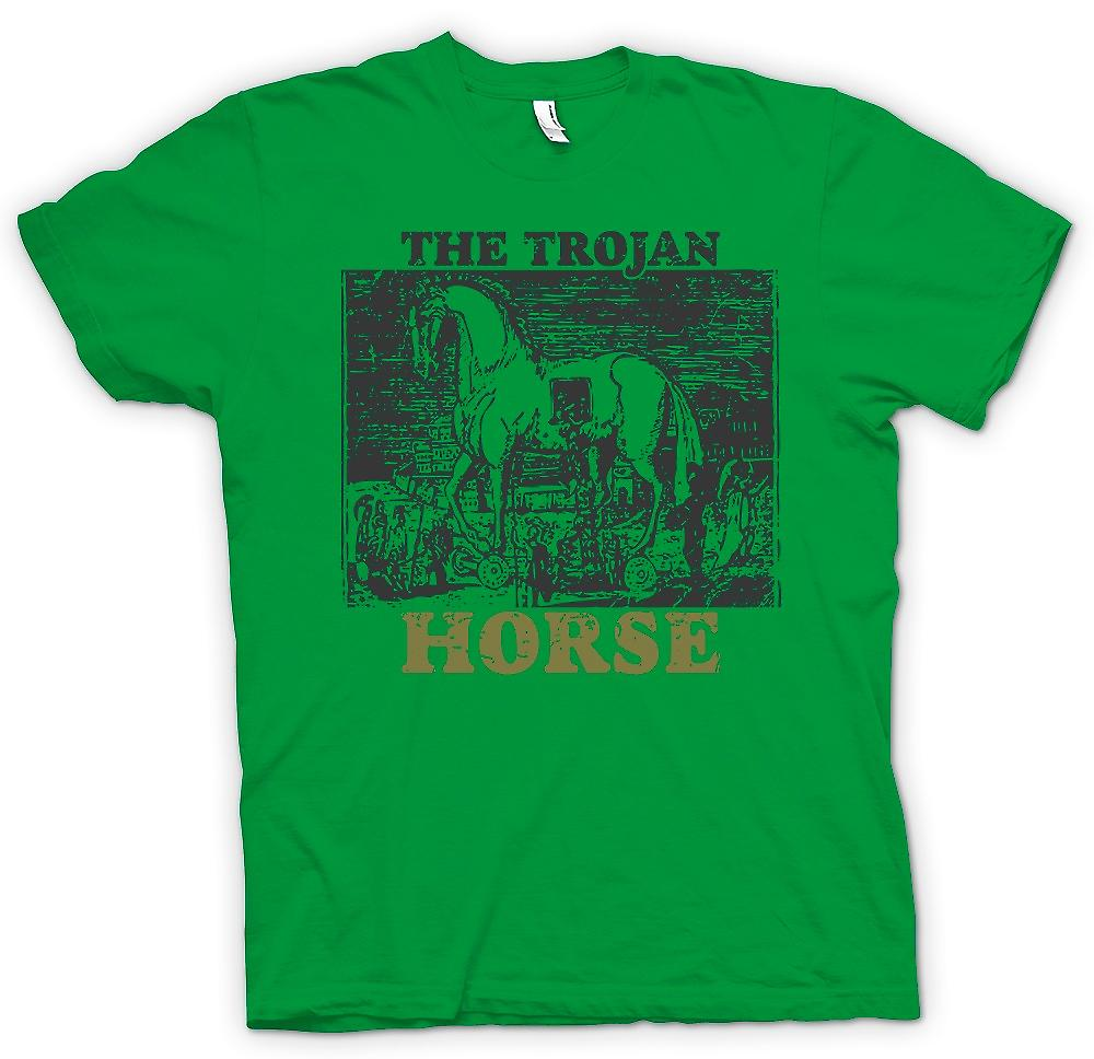 Mens t-shirt - il cavallo di Troia - Troy