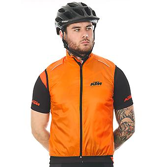 KTM Orange 2016 Factory Line MTB Sleeveless Jacket