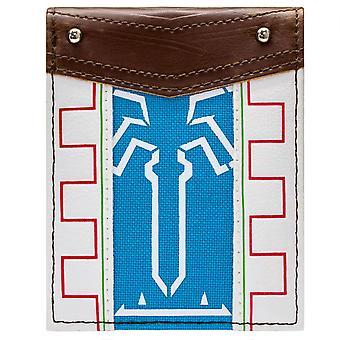 Legend of Zelda tuulahduksen Wild ID & kortti kaksoistaitos lompakko
