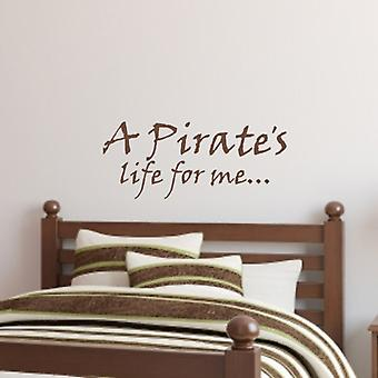 Kinder wall art sticker - Pirate's Life