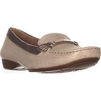 Naturalizer Womens Gadget Square Toe Loafers
