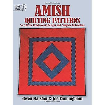 Amische Quilting Muster: Full-Size-Ready-to-Use Designs und vollständige Anleitung