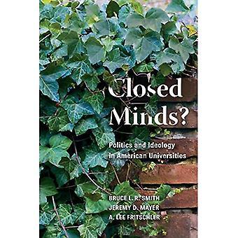 Cerradas mentes?: política e ideología en universidades americanas