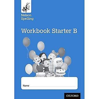 Ny Nelson stavning arbetsbok blå B