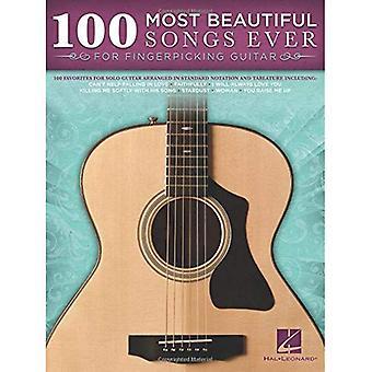100 schönsten Lieder aller Zeiten für Fingerpicking Gitarre Solo Tab Bk