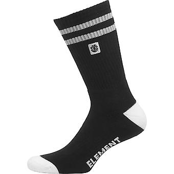 Element Athletic Socks ~ Clearsight black