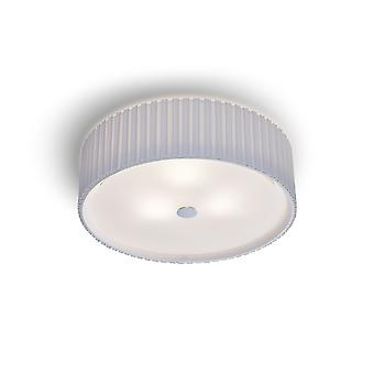 Herstal - Cole Ceiling Light Pleat White Finish 3094500020