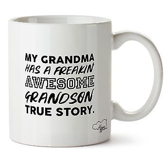 Hippowarehouse моя бабушка имеет freakin ' Подлинная история удивительная внука. Печатные кружка Кубок керамические 10oz