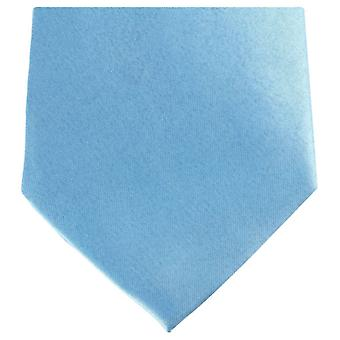 Knightsbridge Neckwear Regular Polyester Tie - Light Blue