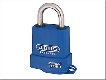 ABUS 83WPIB / 53 Submariner Brass Body Stainless Steel Shackle Padlock KA 2745