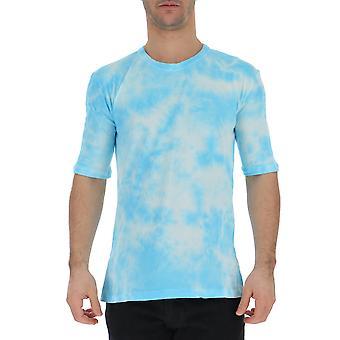 Laneus Light Blue Cotton T-shirt