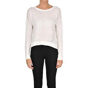 Gotha White Linen Sweater