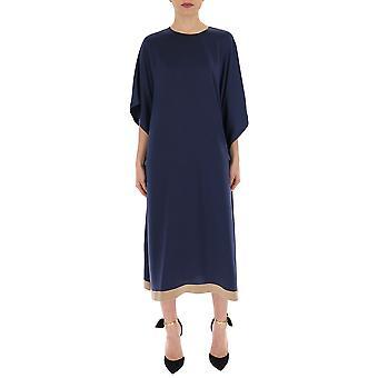 Red Valentino Blue Polyester Dress