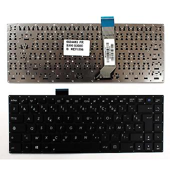 Asus S300CA-C1003H Black Windows 8 French Layout Replacement Laptop Keyboard