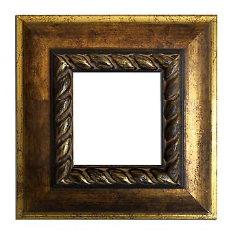 13 x 13 cm or 5 x 5 inch photo frame in gold