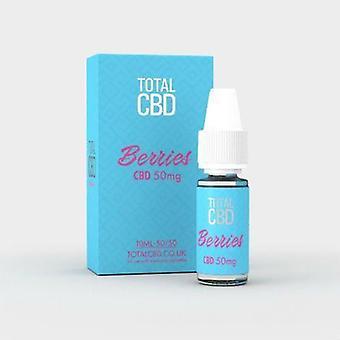 Total CBD E-Liquid 50mg Berry Burst 10ML
