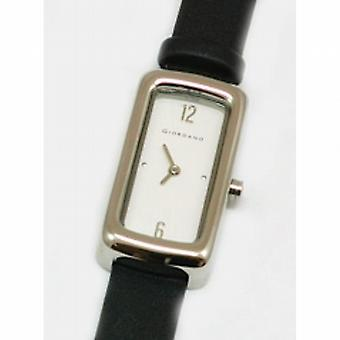 Giordano Black Fabric Strap Ladies Fashion Watch 2044-2