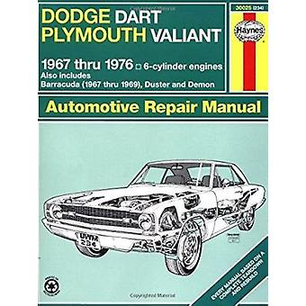 Dodge Dart and Plymouth Valiant Plus Challenger and Barracuda Six Cyl