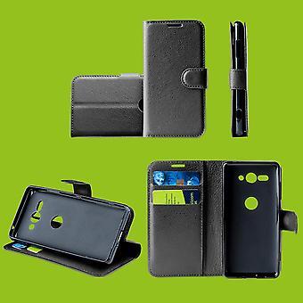 For Google Pixel 3a Bag Wallet Premium Black Protection Case Case Cover Case New Accessories