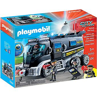 Playmobil 9360 City Action SWAT Truck with Lights and Sound