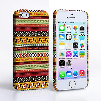 Caseflex iPhone 5 and 5S Aztec Earthy Pattern Hard Case