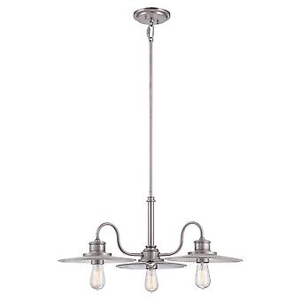 Admirał trzy Light żyrandol - Elstead Lighting Qz / Admiral / 3P