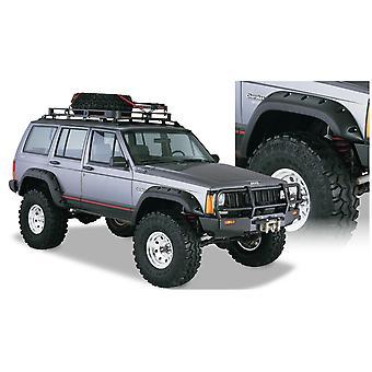 Bushwacker 10911-07 FF Jeep recorte 4Pc